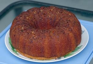 #3 Homemade Rum Cake