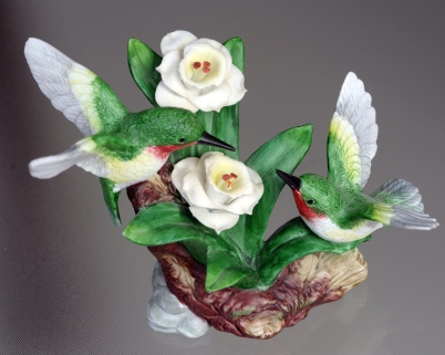 #13 Hummingbirds Figurine